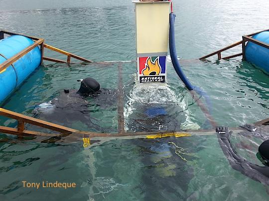 An underwater braai? Yes please!