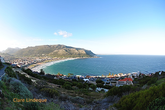 View of Fish Hoek from Contour Road