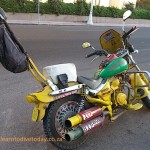 Pimped out scooter in Hurghada