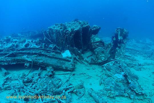 Cargo on Yolanda reef