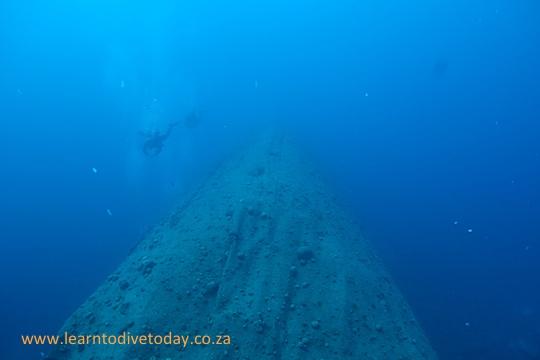 The wreck of El Miniya
