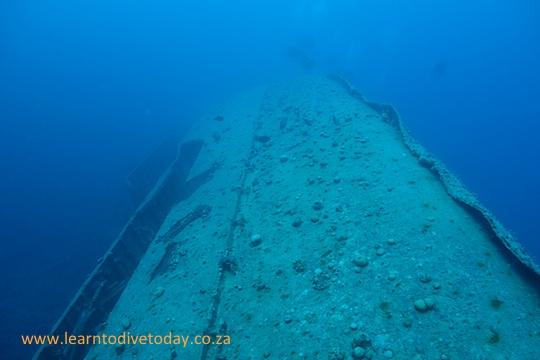 Starboard side of El Miniya