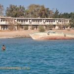 Shipwreck near the Hurghada marina