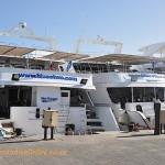 Two blue o two liveaboards at Hurghada Marina
