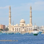 The mosque in Hurghada