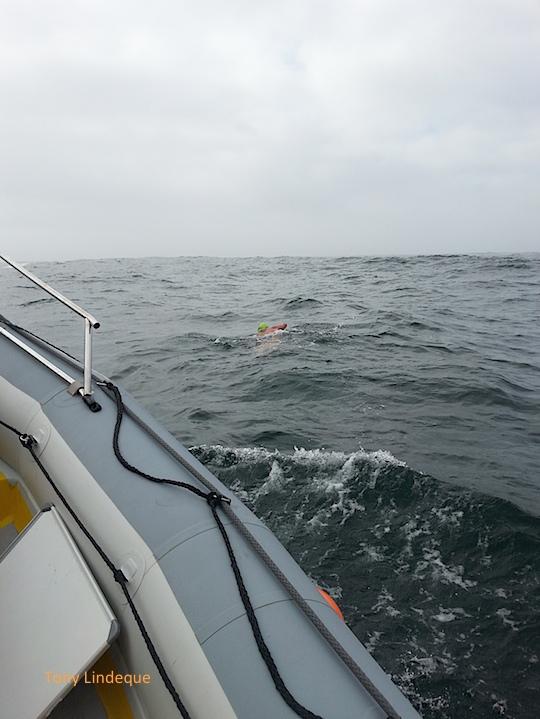 Richard on his way around Cape Point
