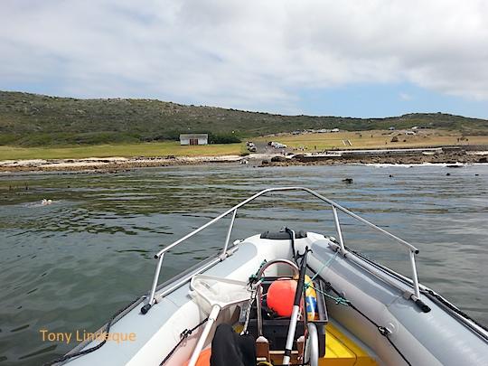 Approaching Buffels Bay