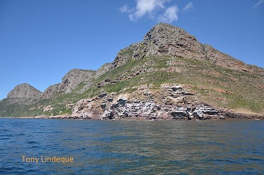 The rocks south of Smitswinkel Bay