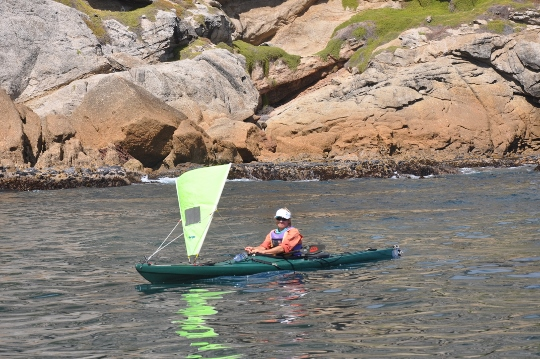 Friday photo: Kayaking with assistance
