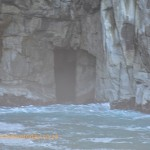 Door in the cliff