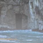 Door in the cliff