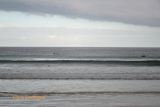 Friday photo: Paddlers in the grey