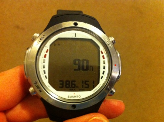 Long term test of the Suunto D6