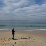 Tony on the beach