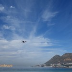 Drone in front of Simon's Town