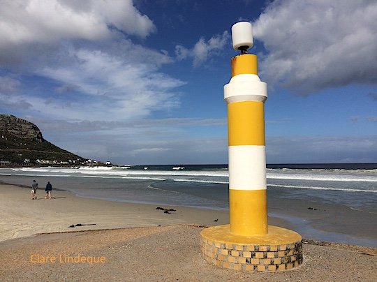 Light at Fish Hoek beach