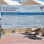 Milnerton lighthouse signage