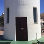 Entrance to Milnerton lighthouse