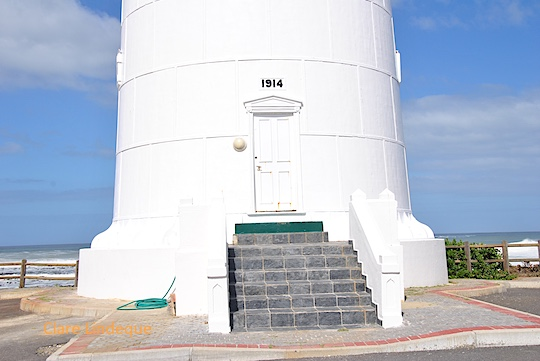 Entrance to the Slangkop lighthouse