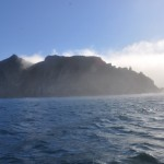 Cape Point in the mist