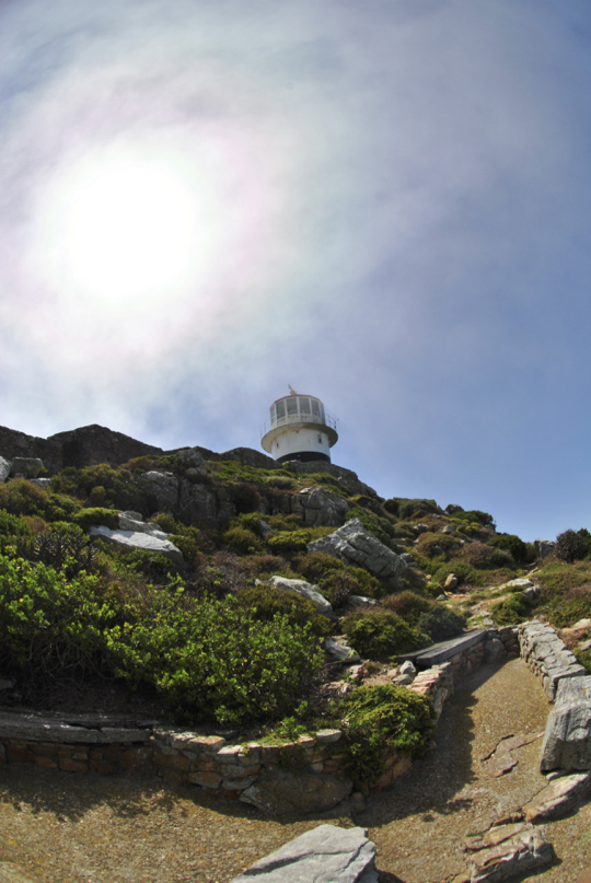 The old lighthouse at Cape Point