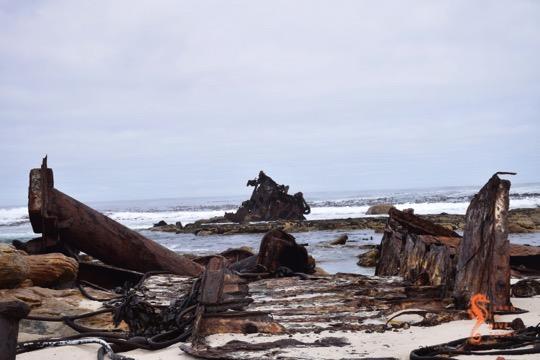 Cape Town's visible shipwrecks: Thomas T Tucker