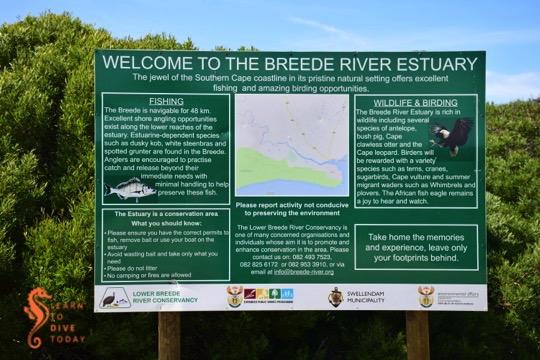 The Breede River estuary