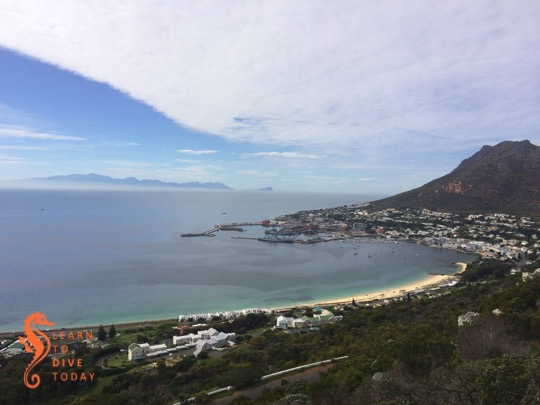 View from the top of Red Hill, over Simon's Town