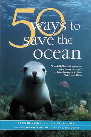 Bookshelf: 50 Ways to Save the Ocean