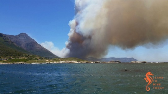 Simon's Town fire