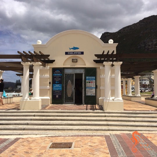 The Shark Spotters centre at Muizenberg