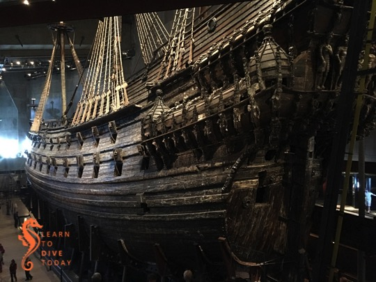 A visit to the Vasa museum in Stockholm