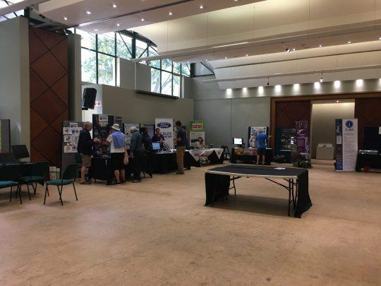 The Citizen Science Fair exhibition hall at Kirstenbosch