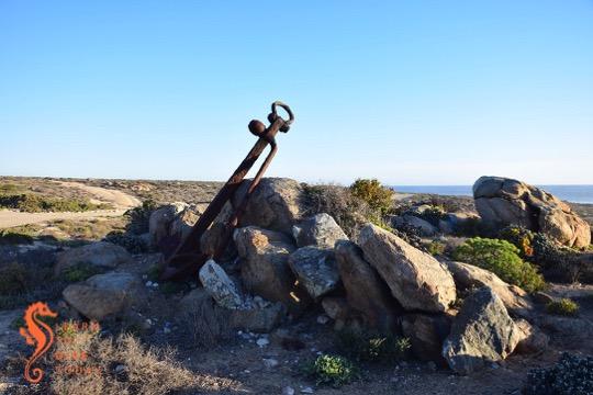 Big anchor at Noup