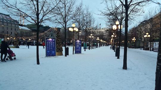 Christmas at Kungsträdgården in Stockholm