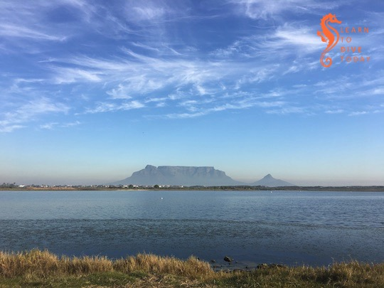Table Mountain from Rietvlei Nature Reserve